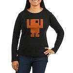 Pixel Dancer Women's Long Sleeve Dark T-Shirt