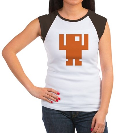Pixel Dancer Women's Cap Sleeve T-Shirt