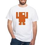 Pixel Dancer White T-Shirt