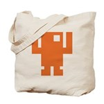 Pixel Dancer Tote Bag