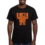 Pixel Dancer Men's Fitted T-Shirt (dark)