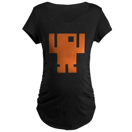 Pixel Dancer Maternity Dark T-Shirt