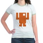 Pixel Dancer Jr. Ringer T-Shirt
