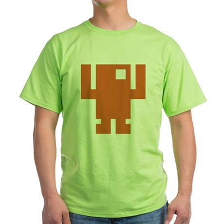 Pixel Dancer Green T-Shirt