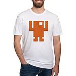 Pixel Dancer Fitted T-Shirt