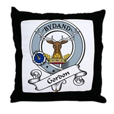 Gordon Clan Badge Throw Pillow
