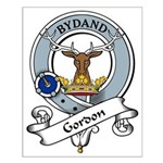 Gordon Clan Badge Small Poster