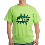 KAPOW! Green T-Shirt