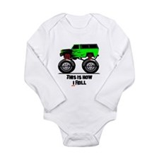 THIS IS HOW I ROLL Long Sleeve Infant Bodysuit