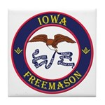 Iowa Masons Tile Coaster