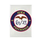 Iowa Masons Rectangle Magnet