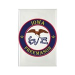 Iowa Masons Rectangle Magnet (100 pack)