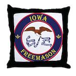 Iowa Masons Throw Pillow