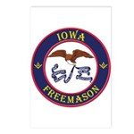 Iowa Masons Postcards (Package of 8)