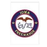 Iowa Masons Postcards (Package of 8)