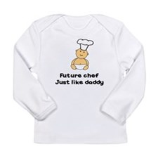 FUTURE CHEF JUST LIKE DADDY Long Sleeve Infant T-S
