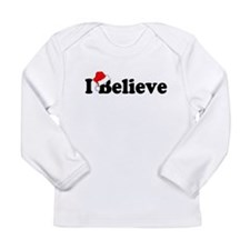 I BELIEVE Long Sleeve Infant T-Shirt