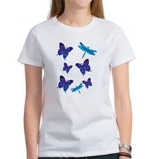 Purple Butterfly Tee