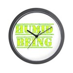 Humid Being Wall Clock