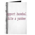 Support Baseball Bite A Yanke Journal