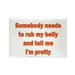 Somebody Needs To Rub My Bell Rectangle Magnet (10