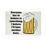 another beer Rectangle Magnet