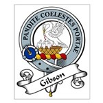 Gibson Clan Badge Small Poster