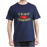 Camp Quantico Spy Black T-Shirt
