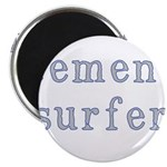 Cement Surfer Magnet