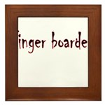 Finger Boader Framed Tile
