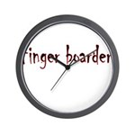 Finger Boader Wall Clock