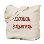 Alcohol Survivor Tote Bag
