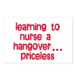 Learning To Nurse A Hangover. Postcards (Package o