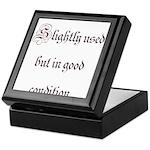 Slightly Used But In Good Con Keepsake Box