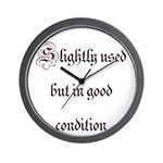 Slightly Used But In Good Con Wall Clock