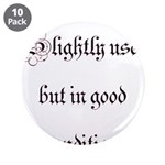 """Slightly Used But In Good Con 3.5"""" Button (10"""