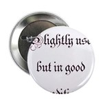 """Slightly Used But In Good Con 2.25"""" Button (1"""