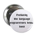 "Profanity The Language Progam 2.25"" Button"