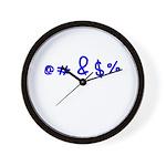 @#&$% Wall Clock