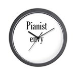Pianist Envy Wall Clock