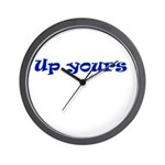 Up Yours Wall Clock