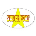 SUPERSTAR Sticker (Oval 10 pk)