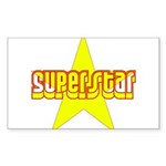 SUPERSTAR Sticker (Rectangle)