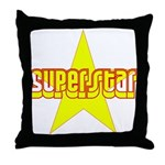 SUPERSTAR Throw Pillow