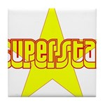 SUPERSTAR Tile Coaster