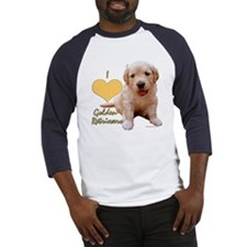 """I Love Golden Retrievers"" Jersey"