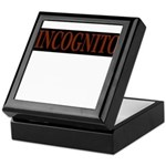 INCOGNITO Keepsake Box