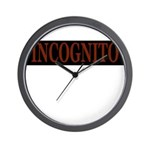 INCOGNITO Wall Clock