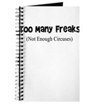 TOO MANY FREAKS NOT ENOUGH CI Journal
