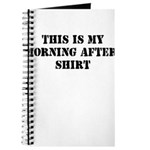THIS IS MY MORNING AFTER SHIR Journal